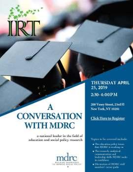 RSVP for MDRC Conversation